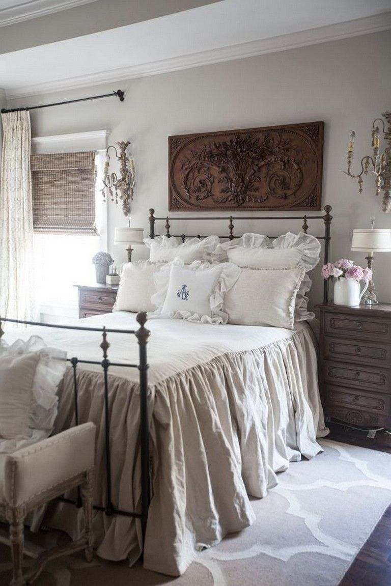 30 Endearing French Country Bedroom Decor That Ll Inspire You Country Bedroom Decor Country Bedroom French Country Decorating Bedroom