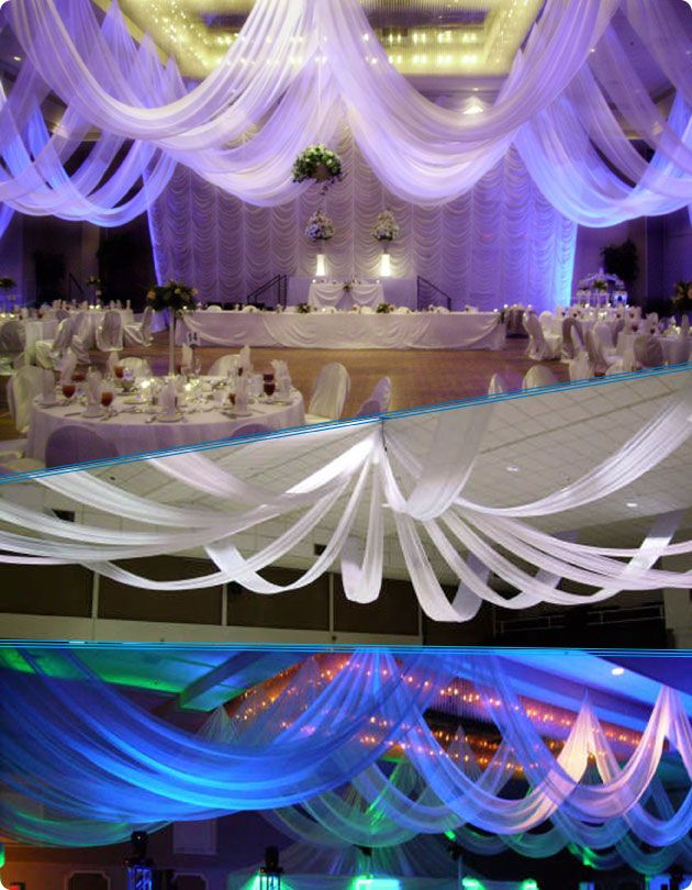 fairy draping wedding products drape ceiling weddings canopy full drapes more cheap brooksby for light and curtain venue fabric with