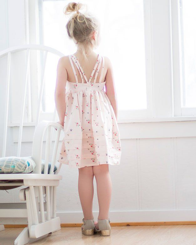 Lexi\'s Strappy Back Dress + Maxi | The Simple Life Pattern Company ...