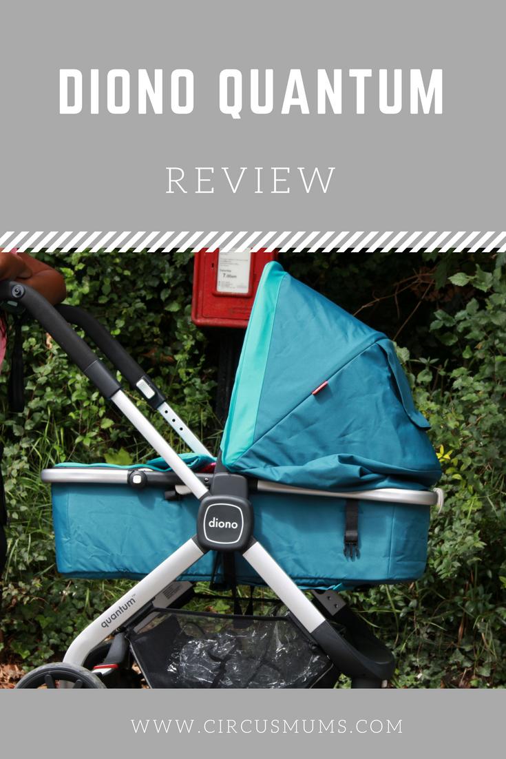 14+ Diono quantum stroller teal information