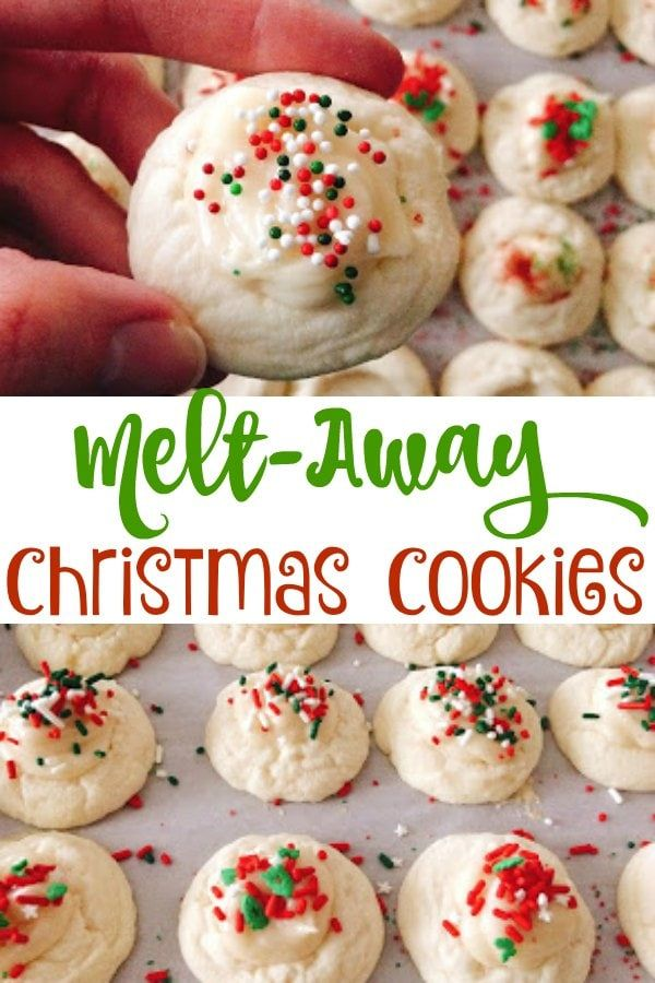 Melt-Away Christmas Cookies – The Mommy Mouse Clubhouse