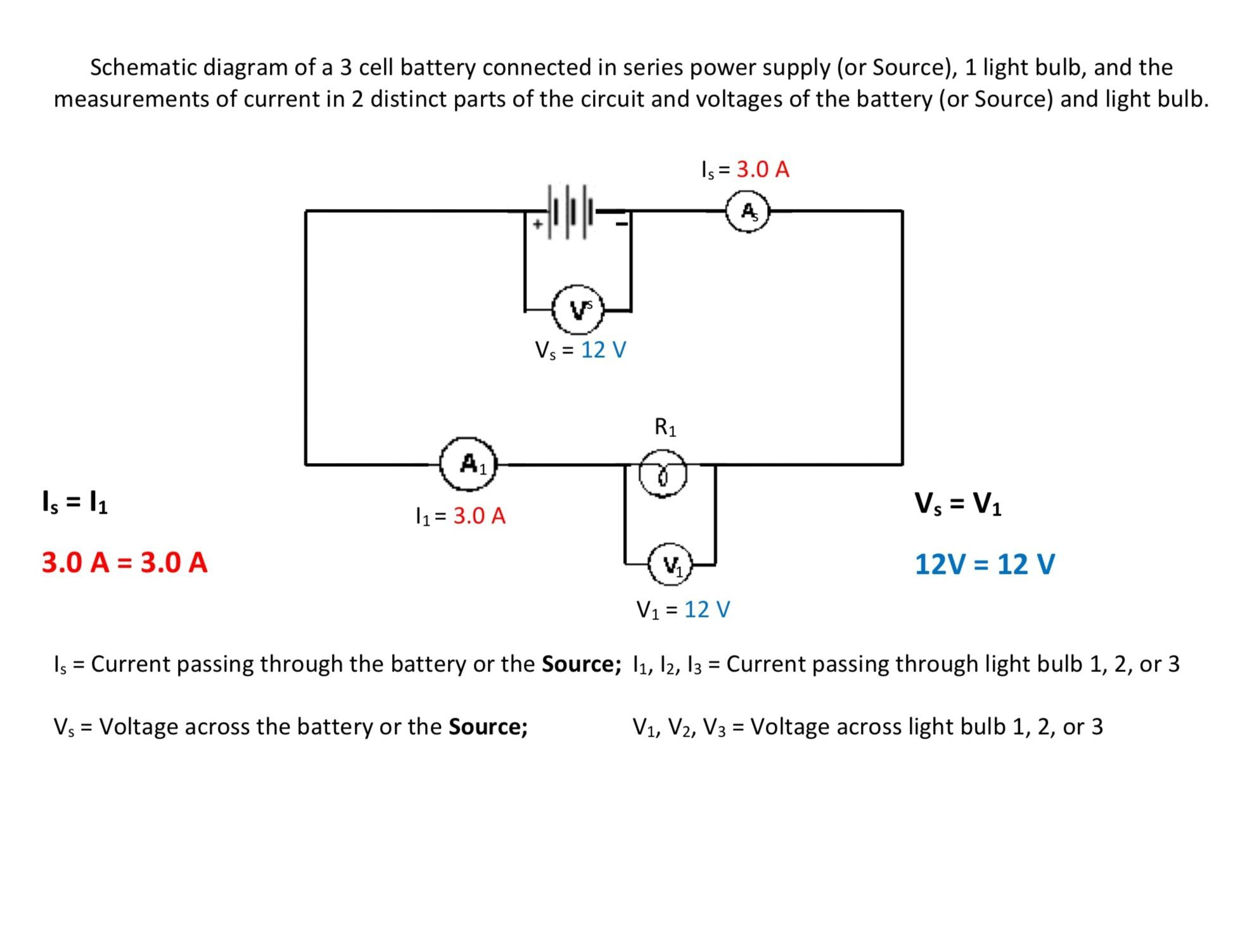 Parallel Circuit Rules Wednesday February 28 2018 Snc1d Battery Series And