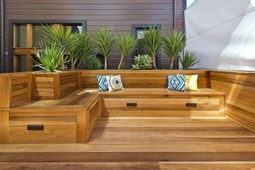 Built In Deck Seating Design Ideas, Pictures, Remodel and Decor ...
