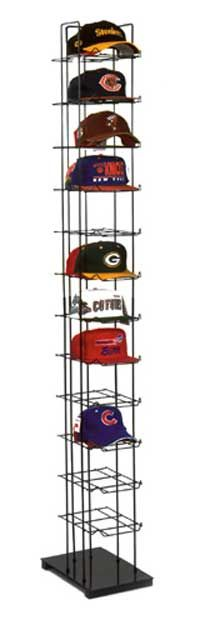 Hat Racks For Baseball Caps Prepossessing Closet For Him Cap Rack  Baseball Cap Tower  Organization Inspiration