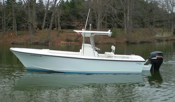 27 Center Console Boat By Judge Yachts Custom Boat Builders