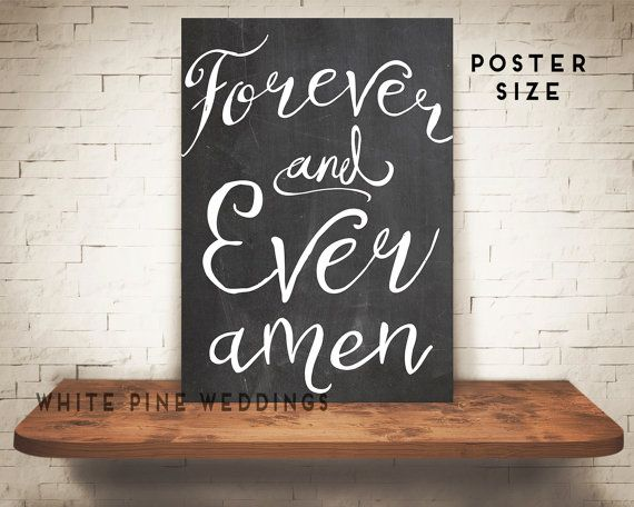 PRINTABLE Wedding Sign Chalkboard Wedding by WhitePineWeddings