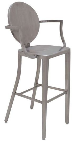 Brushed Stainless Steel Counter Stool Kitchen Pinterest Stainless Steel Counters Brushed