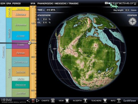 Earthviewer 0 00 What Did Earth S Continents And Oceans Look