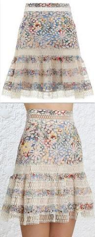 'Lovelorn' Flutter Skirt