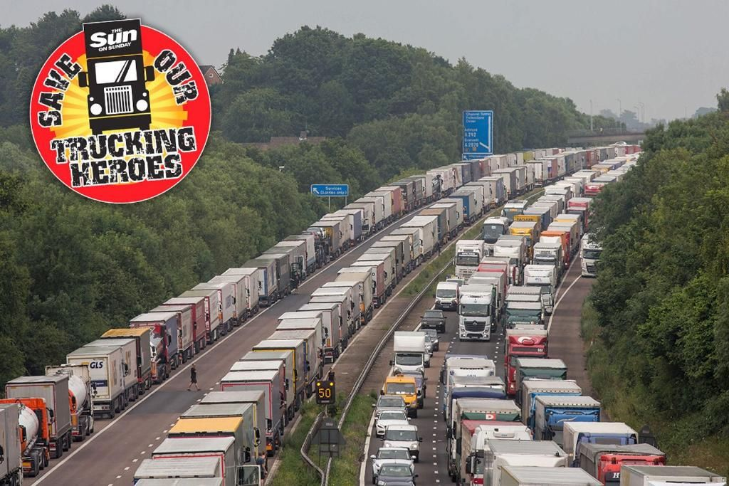 Traffic chaos in Calais could cost Britain £5billion this summer: