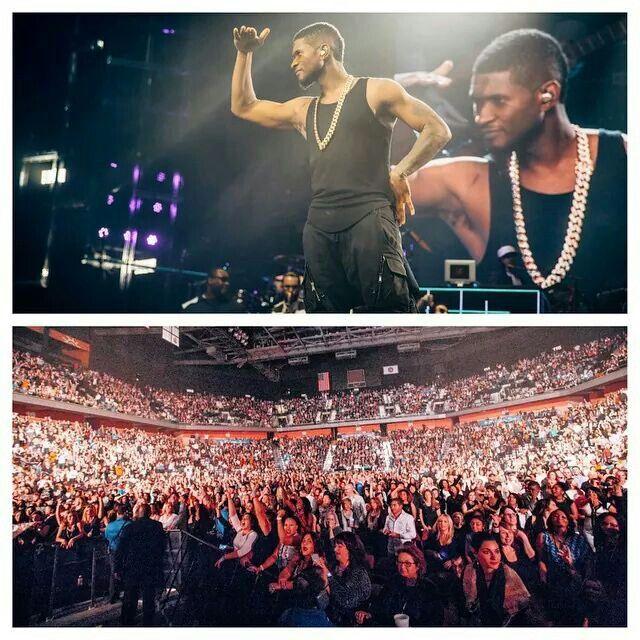 Usher tour...Atlantic City