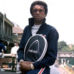 Arthur Ashe became the first, and is still the only, African-American male player to win the U.S. Open and Wimbledon.