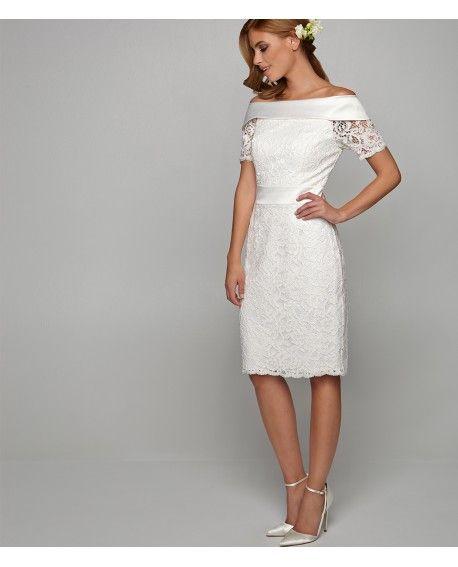 Kleid für eine standesamtliche Trauung | Spitzenkleider ...