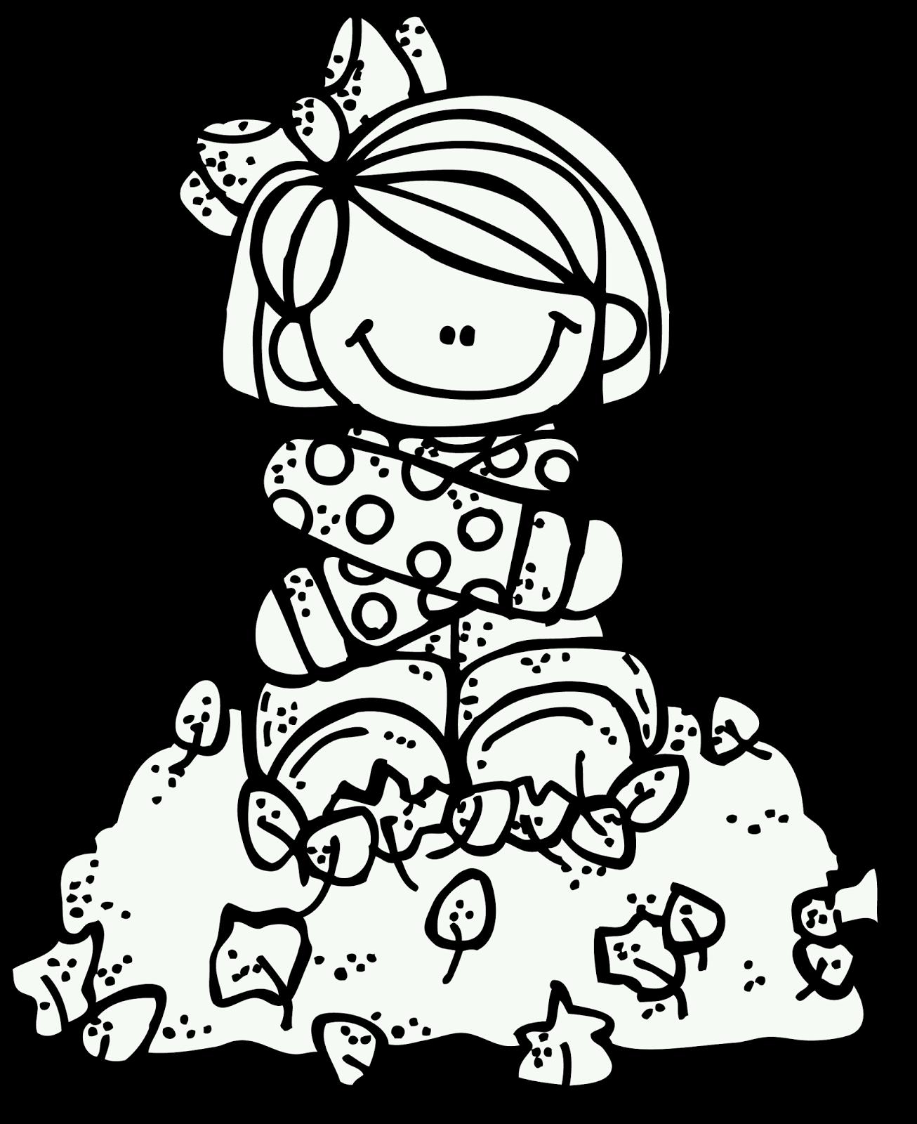 Melonheadz Happy Fall My Friends Clipart