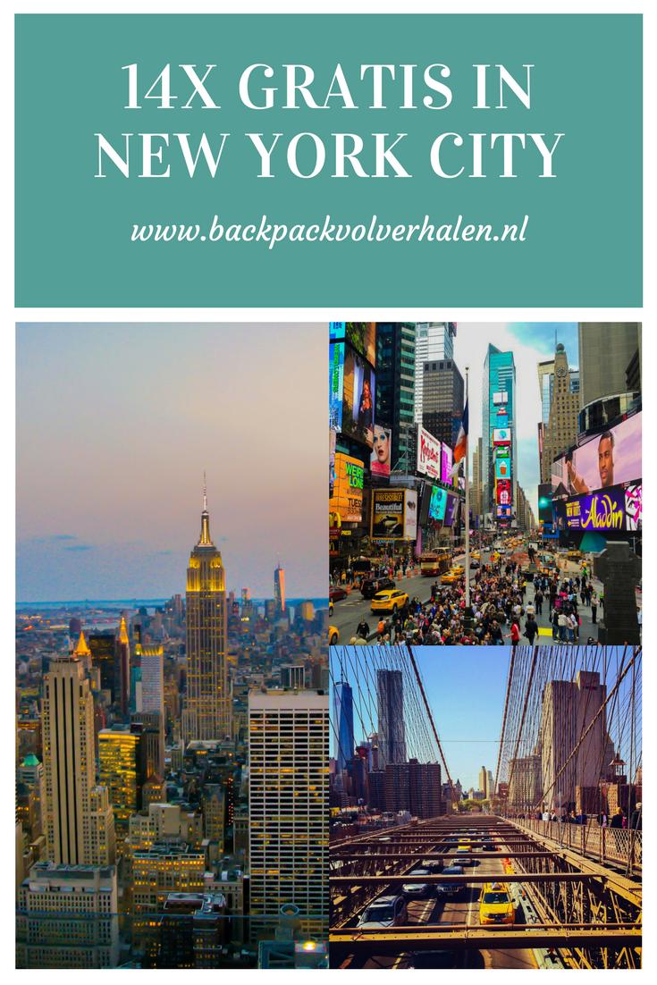 budgetpost 14x gratis in new york city  stedentrip