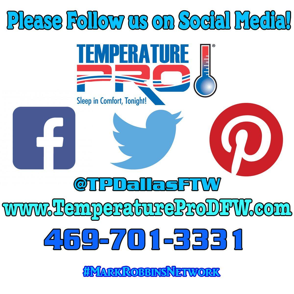 Please follow us on Social Media, we do follow back! We