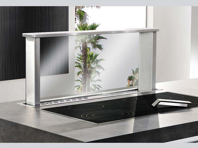 Airforce Mozart Downdraft 80 cm Motor intern Tischhauben - dunstabzugshauben für küchen