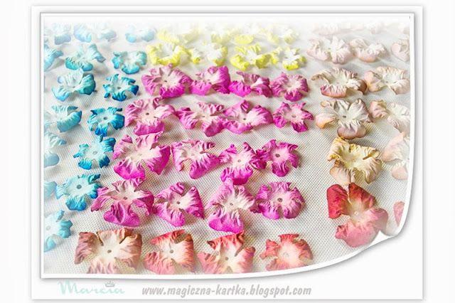 Jak Ja To Robie Czyli Kurs Na Kwiaty Z Papieru Czerpanego Paper Flowers Flower Making Crafty Projects