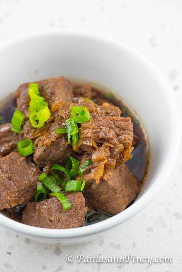Crockpot Beef Pares Recipe Panlasang Pinoy Recipe Beef Pares Beef Recipe Instant Pot Instant Pot Dinner Recipes