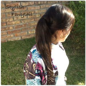 Un Peinado estilizado