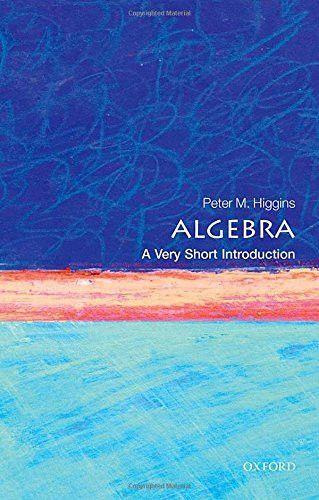 Algebra A Very Short Introduction Very Short Introductions Algebra Mathematics Rhetorical Question