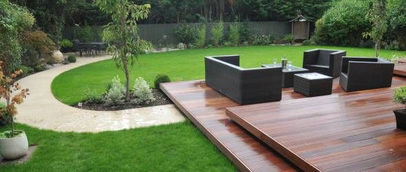 Small Outdoor Deck Garden - Google Search | Back Yard | Pinterest