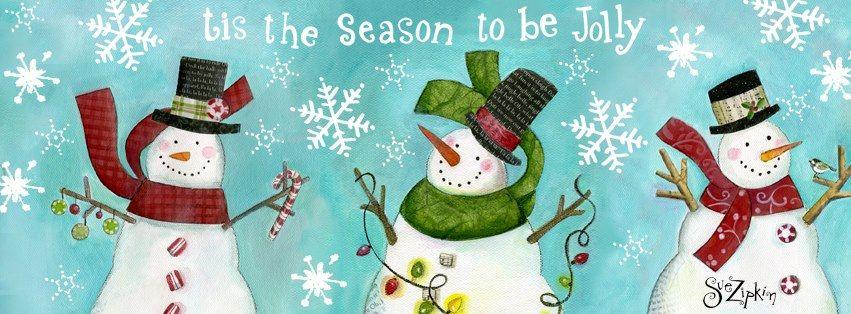 Sue Zipkin's snowmen.  Adorable.
