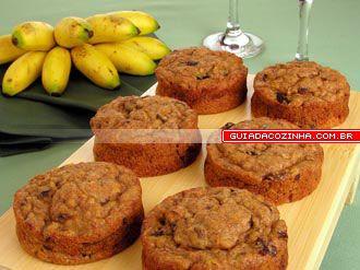 Receita de Bolinho de banana | Guia da Cozinha