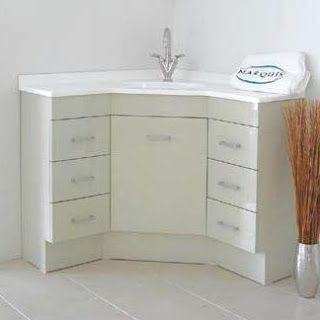 Modecor Vanity Units Vanity Units Freestanding Corner Vanity Units Small Bathroom Makeover Corner Vanity Unit