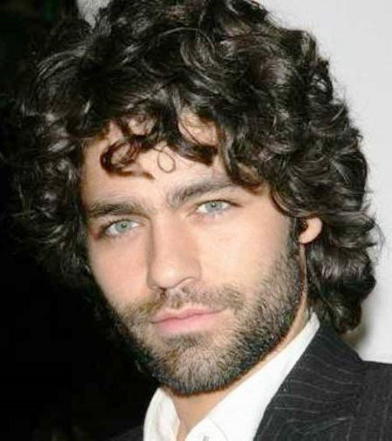 The Charming Medium Length Curly Hairstyle Mens Haircuts