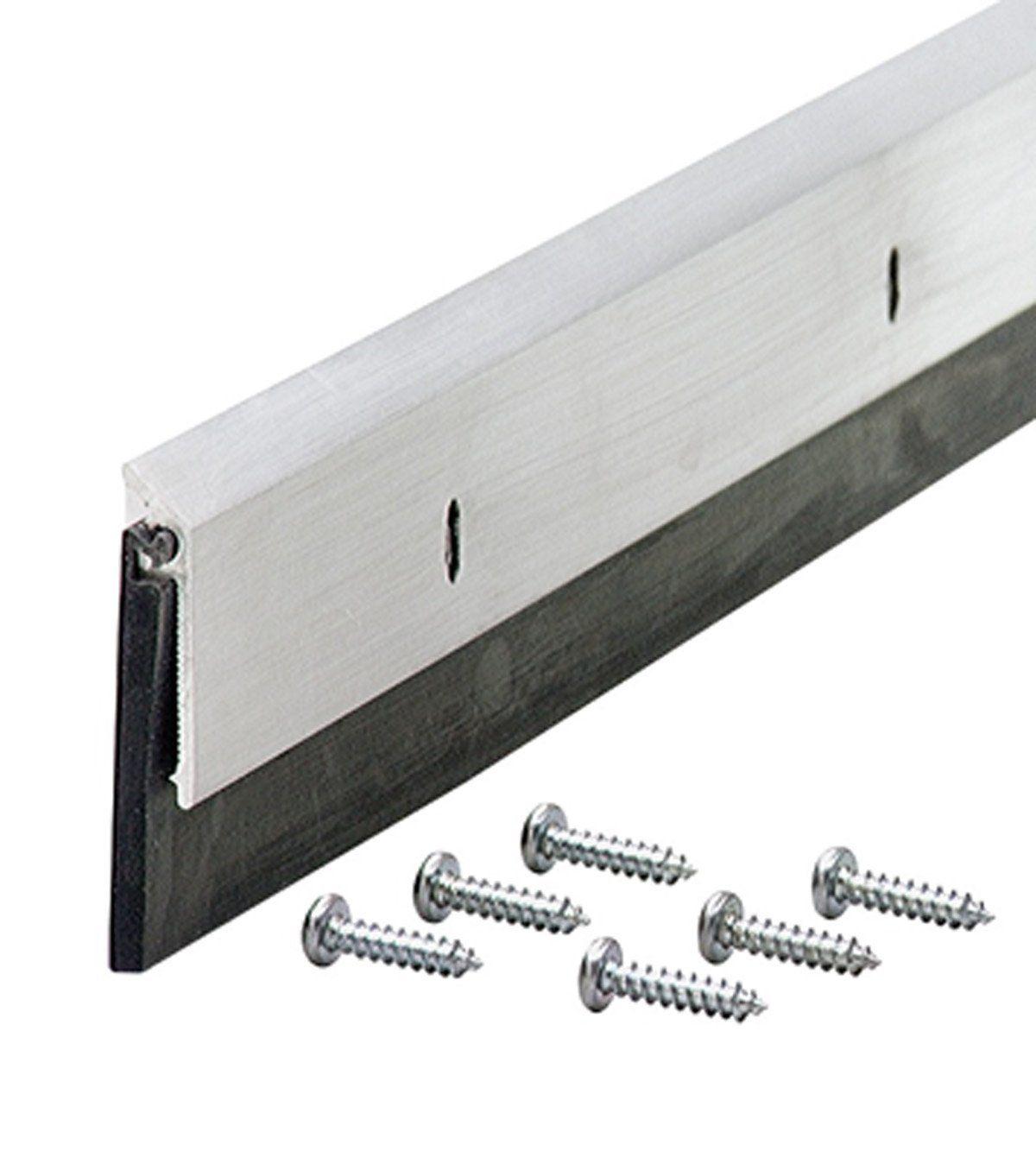 M D Building Products 68247 1 1 4 Inch Epdm 36 Inch Db006 Commercial Grade Door Sweep Mill Door Thresholds A Door Sweep Door Weather Stripping Door Sweeps