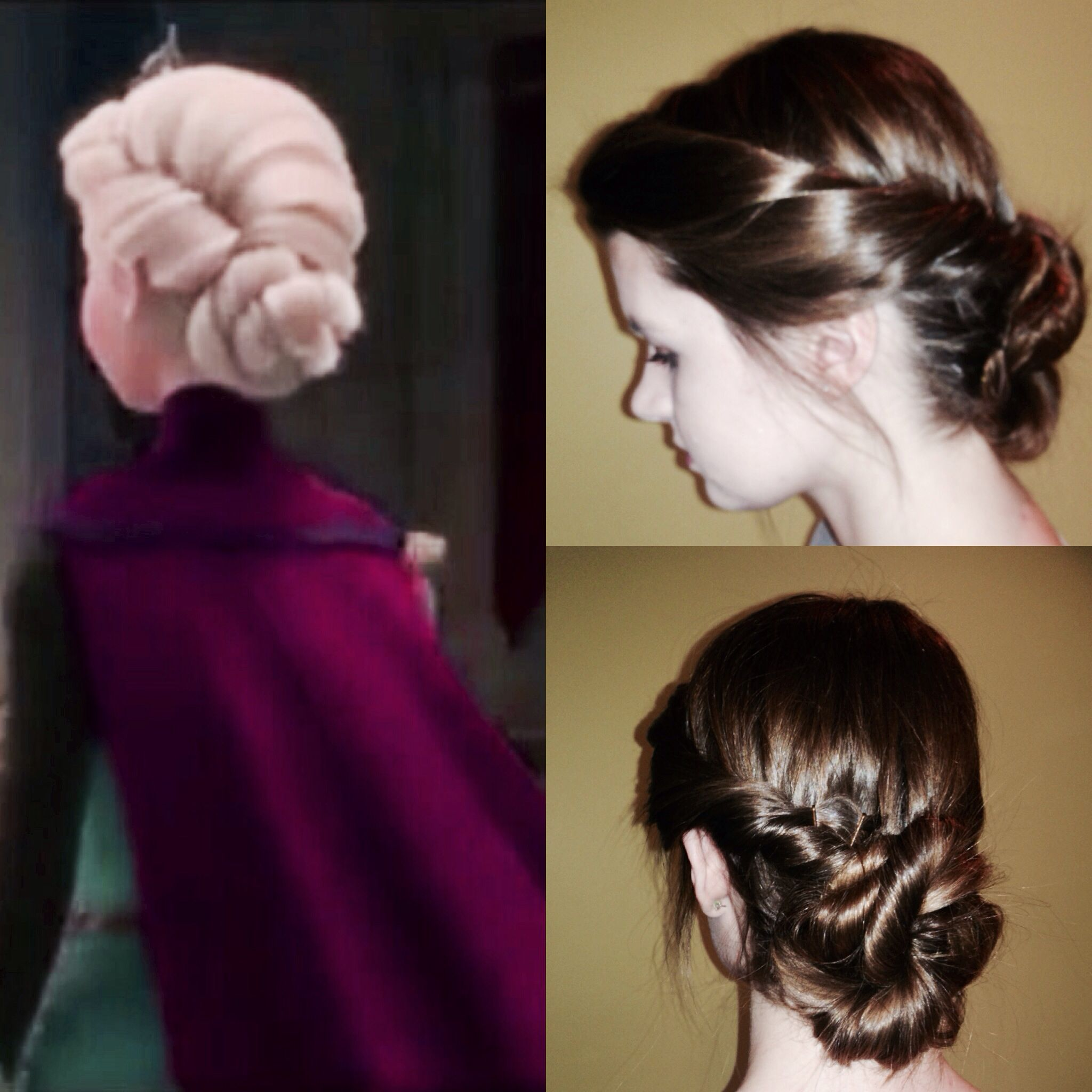 Queen Elsa S Coronation Hair From Frozen By Riccardo Roodt Roodt Roodt Perello Watson