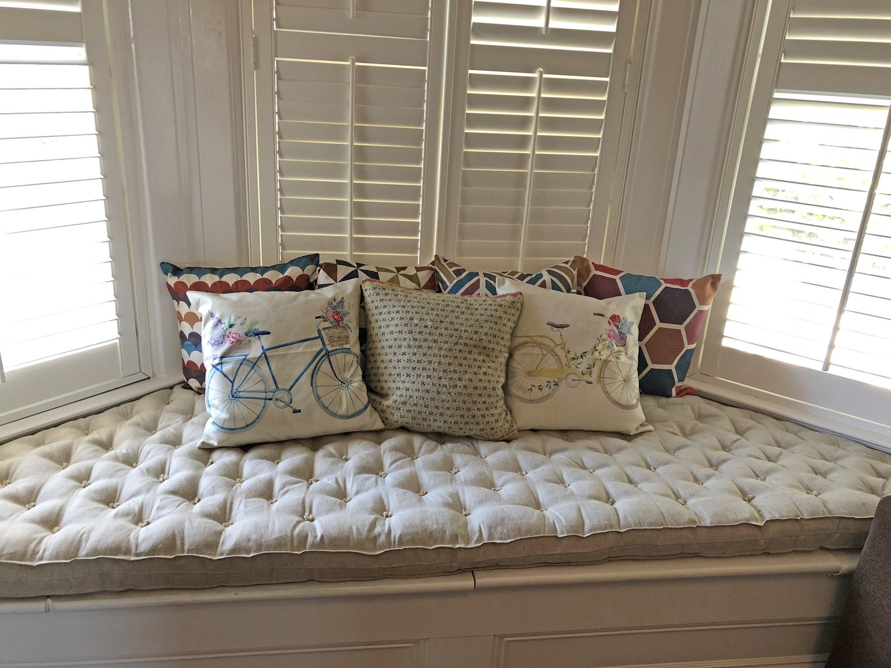 4 Tufted Daybed Cushion Oeko Tex Certified Wool Etsy Daybed