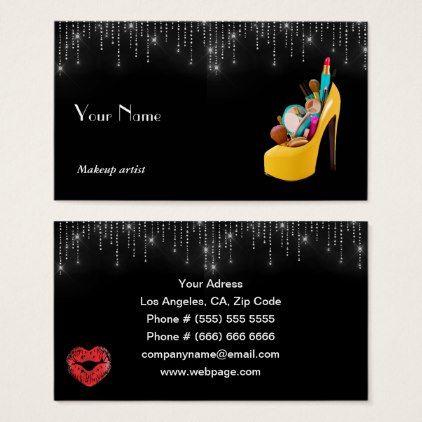 Makeup artist business card elegant gifts gift ideas custom makeup artist business card elegant gifts gift ideas custom presents reheart Images