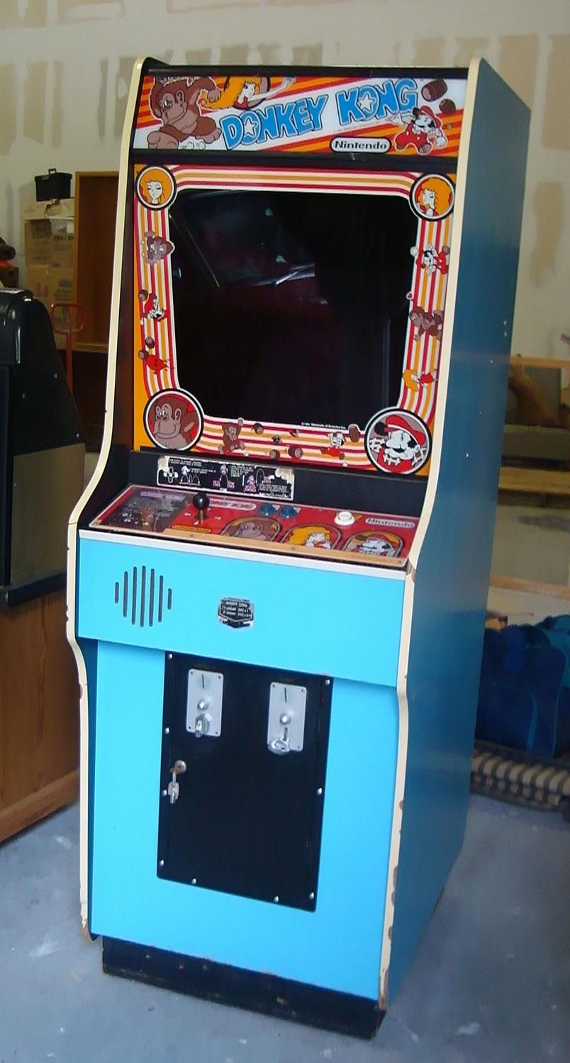 Donkey Kong* another favorite;D 1980s Arcade, Donkey