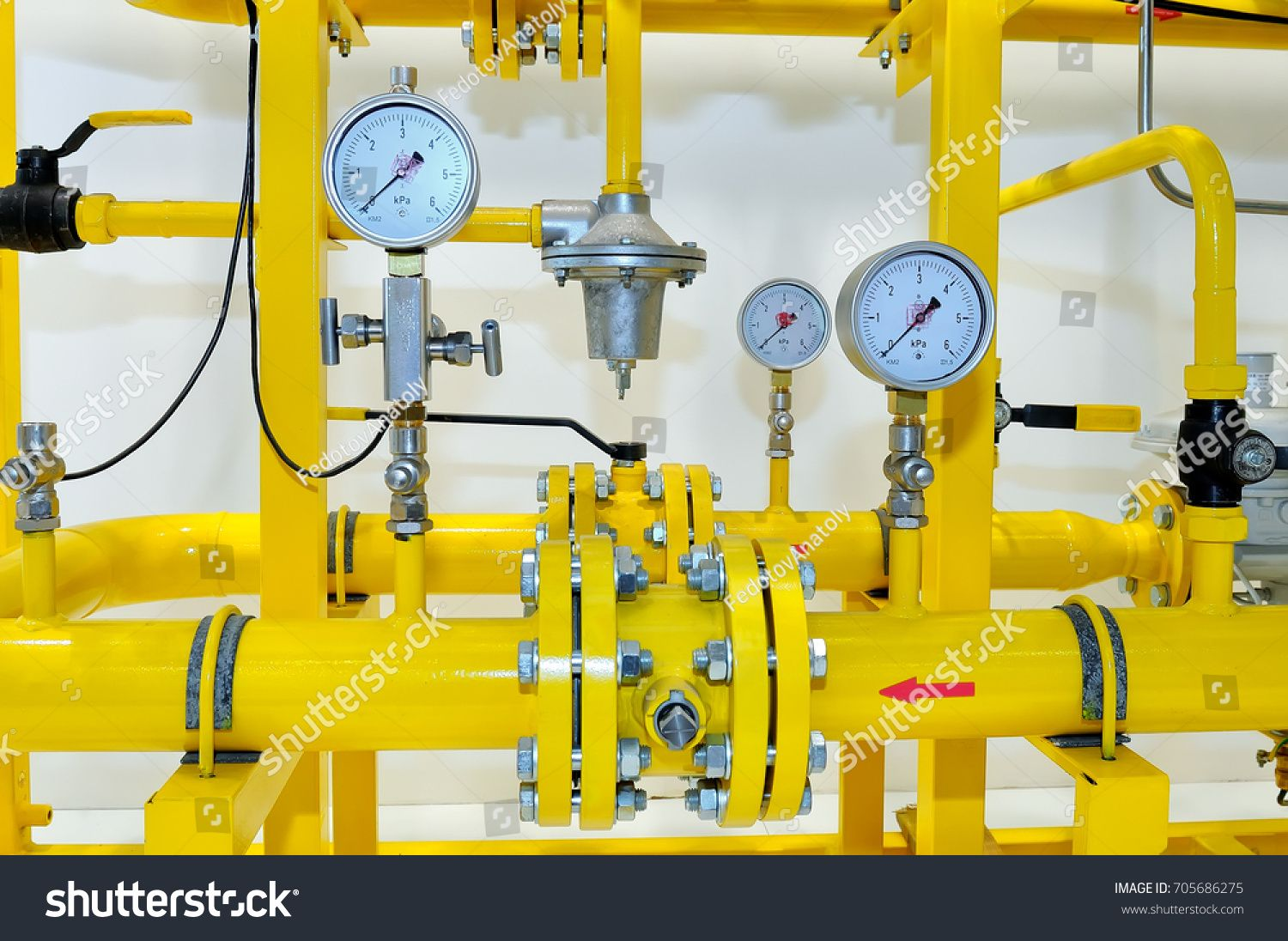 Pressure Meters On Natural Gas Pipeline Royalty Free Image Photo In 2020 Gas Pipeline Stock Photos Gas