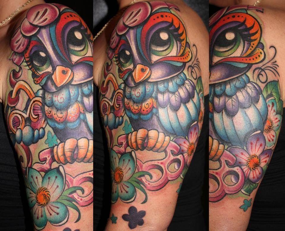 New School Girly Tattoos: Tattoos, Beautiful Tattoos, Body Art