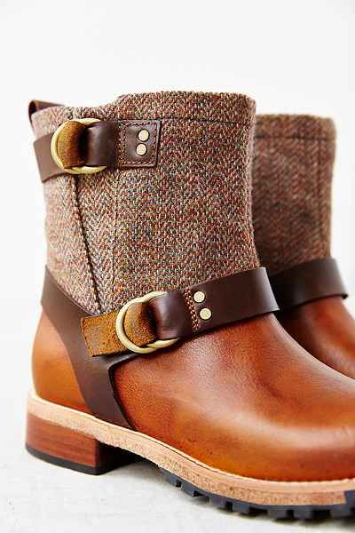 Woolrich Balt Oxford Tweed Moto Boot - Urban Outfitters