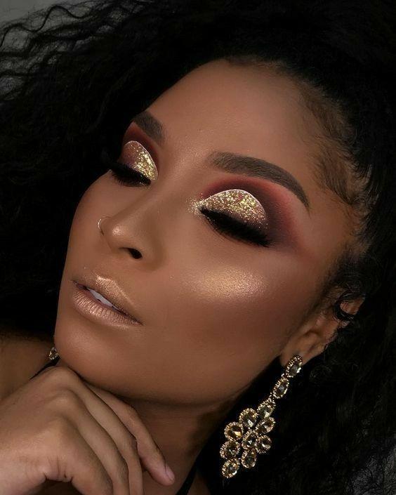 Pinterest:@JordynCrimiel 💋 | Makeup for black women, Black