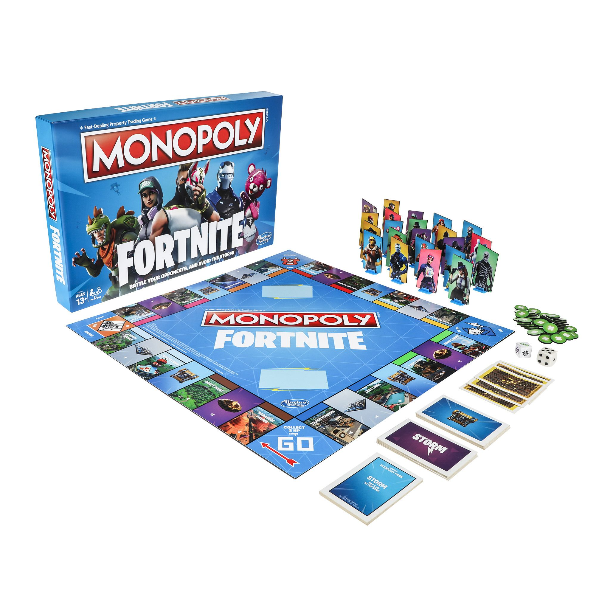 Monopoly Fortnite Edition Inspired By Fortnite Video Game For Ages 13 And Up Walmart Com Family Board Games Monopoly Game Fortnite