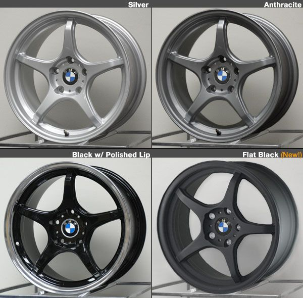 E36, E46, E82, E9X, Z3, Z4 D-Force LTW5 17 or 18-inch Wheel