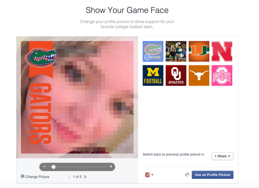 Facebook Now Lets You Frame Your Profile Pic To Show Support For ...