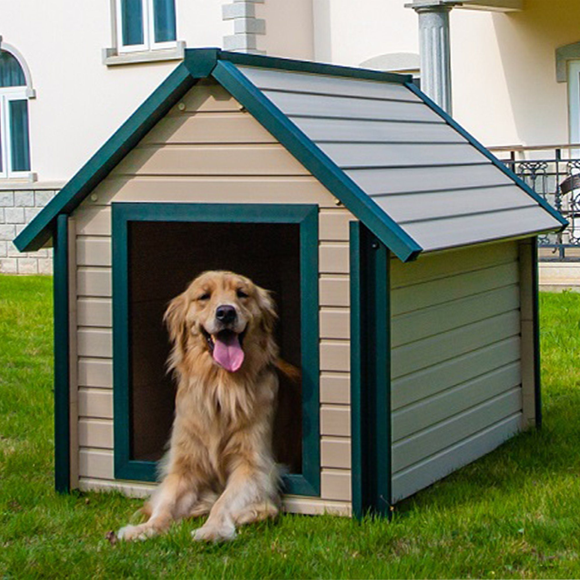 New Age Pet Bunkhouse Dog House X Large Large Dog House Extra
