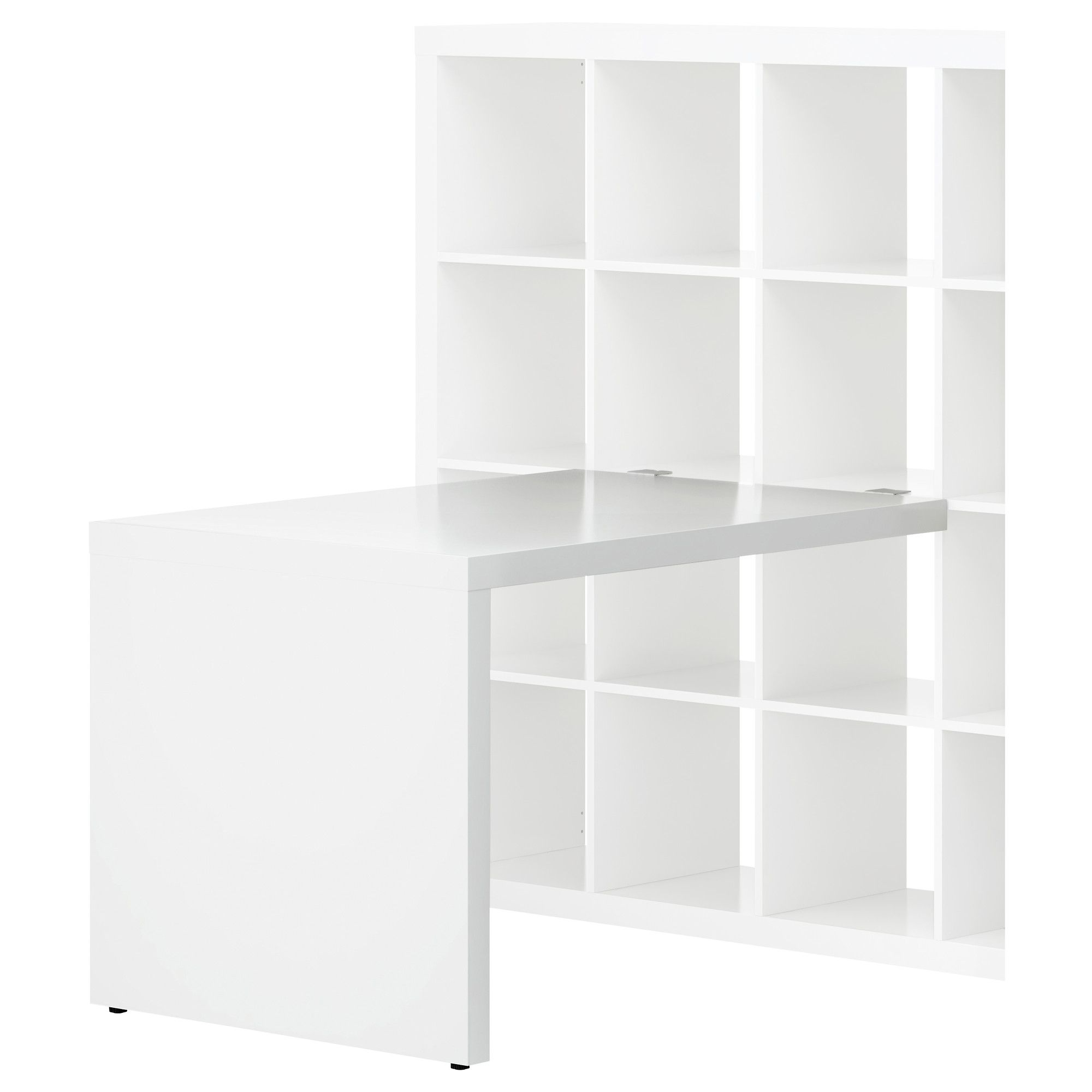 expedit desk white ikea 50 for just the desk part can be used with any expedit shelf. Black Bedroom Furniture Sets. Home Design Ideas