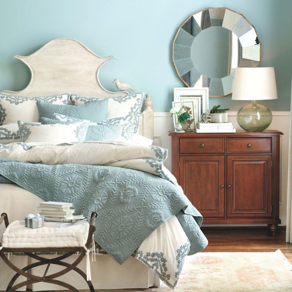 Claudette Headboard Blue Bedroom Home Decor Bedroom Home Bedroom