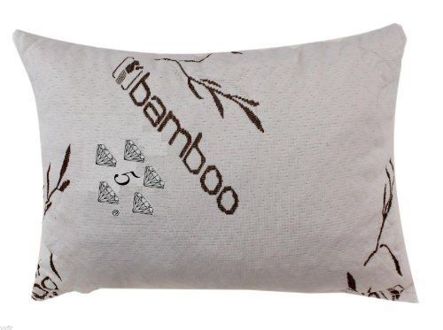 Bamboo Covered Stay Cool Shredded Gel Memory Foam Pillow, USA Made, Hypoallergenic and Dust Mite Resistant,100% Washable with a Luxury Bag by 5 Diamond Collection,Queen, http://www.amazon.ca/dp/B00IOVLCMC/ref=cm_sw_r_pi_awdl_pSG6vbQS72R9C