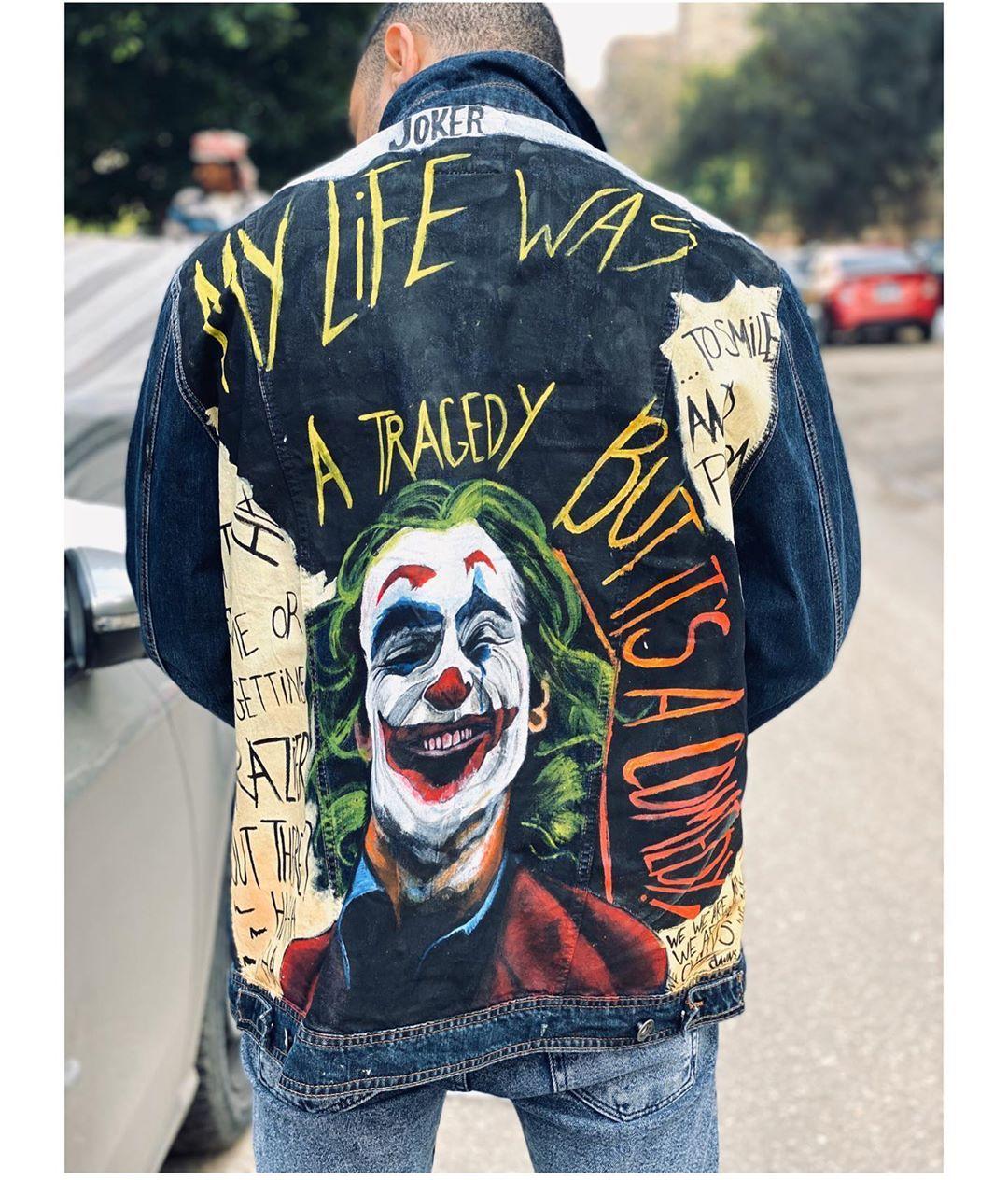 Get For Free The Joker Phone Case 2019 Jokerquote Jokerquotes Jokermotivation Jokermovie Jokermemes Jokerlover Denim Jacket Men Joker Jacket Joker Outfit [ 1264 x 1080 Pixel ]