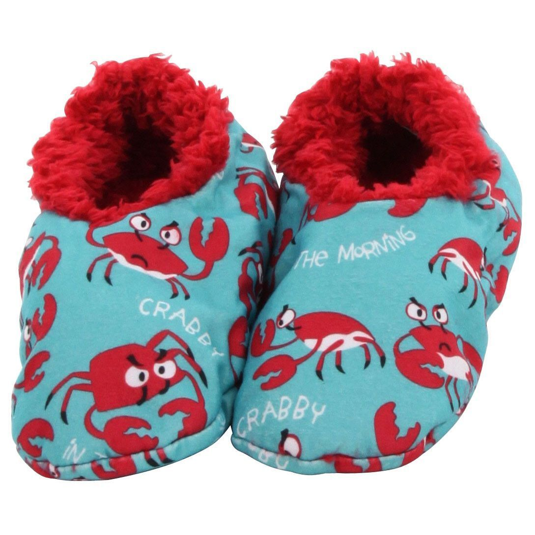 85fb4b6f554c LazyOne Fuzzy Feet Slippers