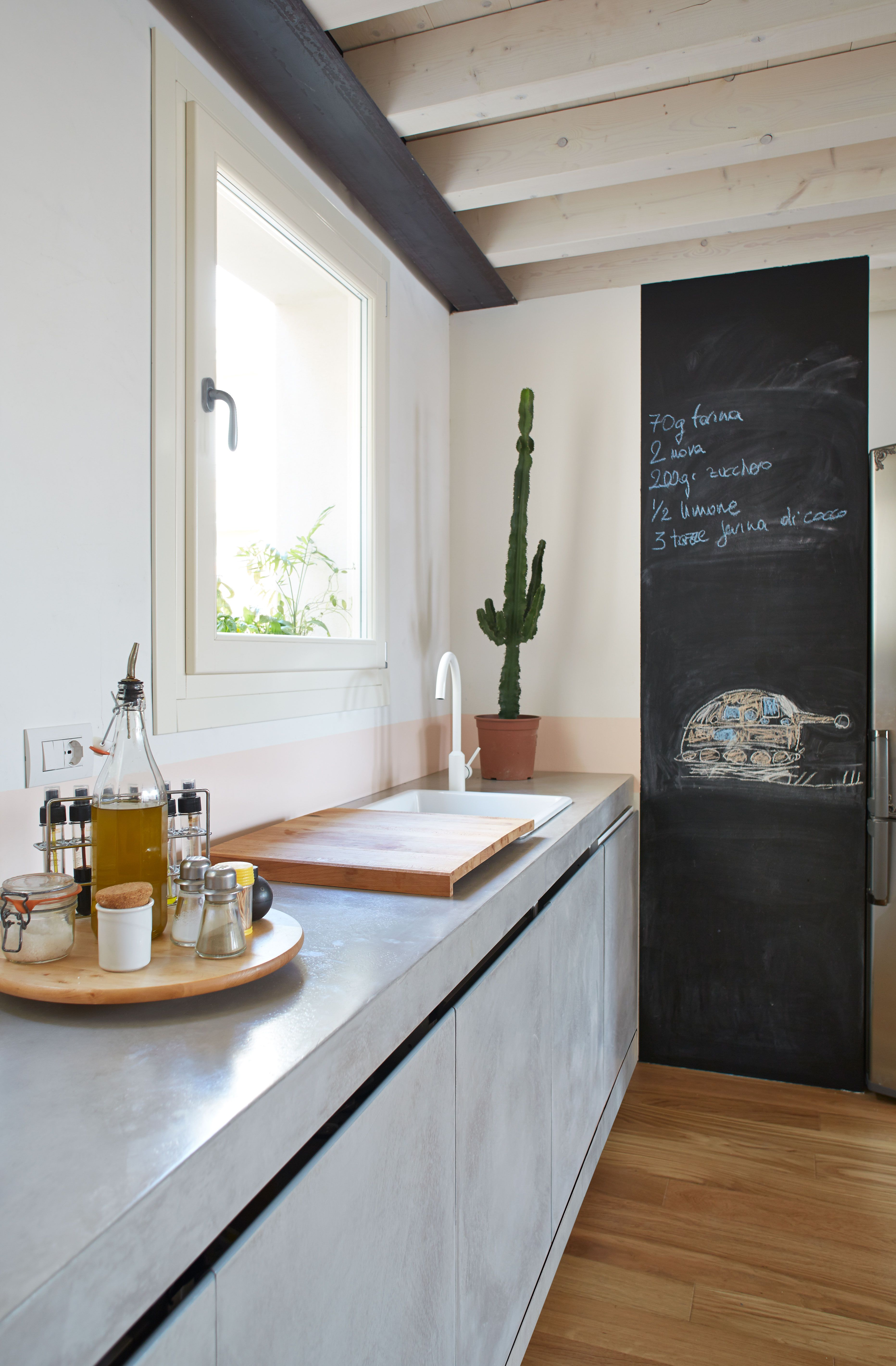 new kitchen surface #microtopping #trends http://www.idealwork.com ...