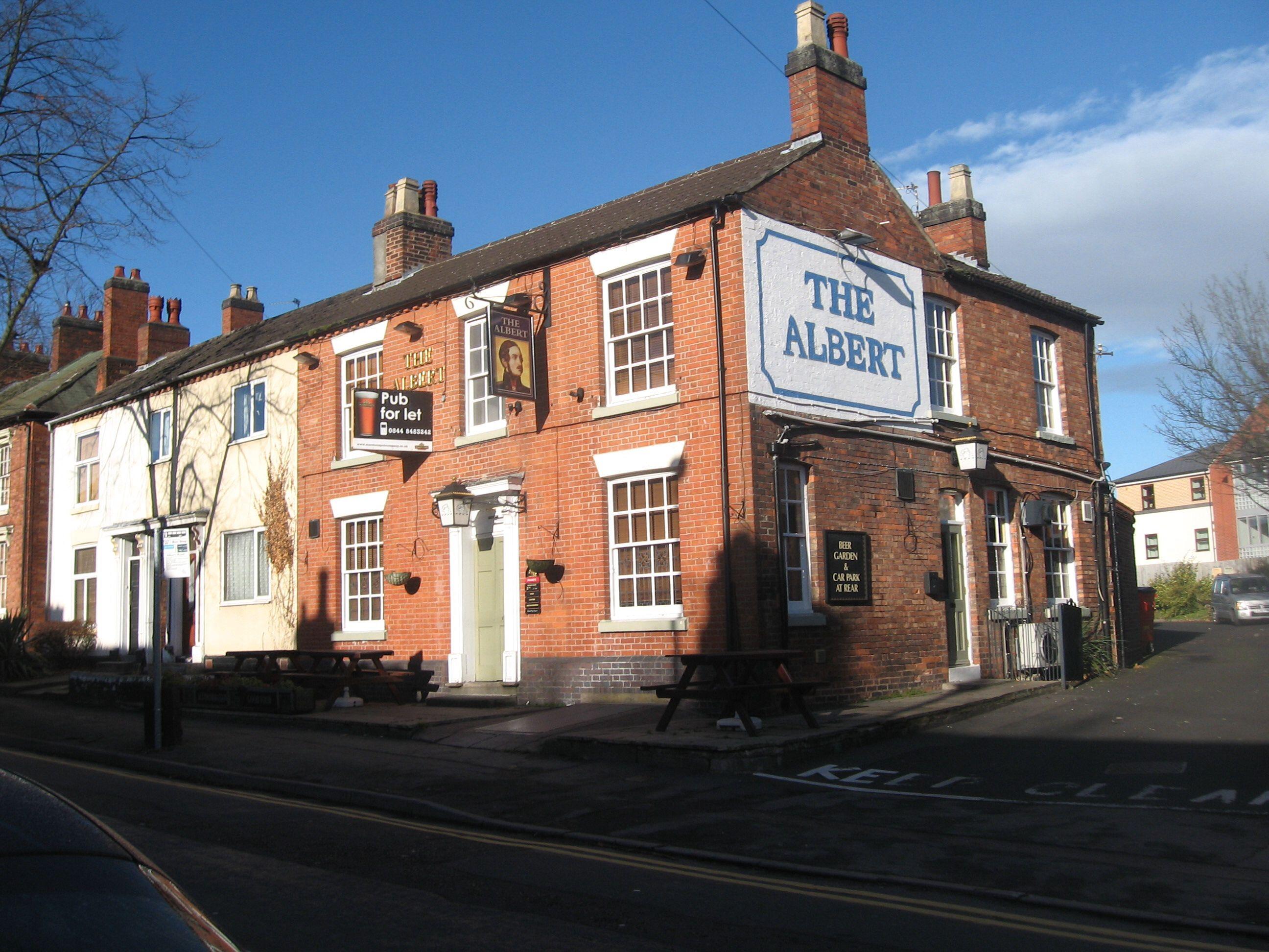 The Albert Hotel Road Tamworth Staffordshire Uk